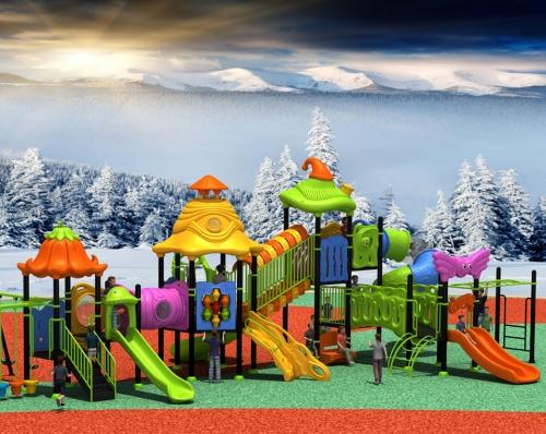 儿童组合滑梯K22-01