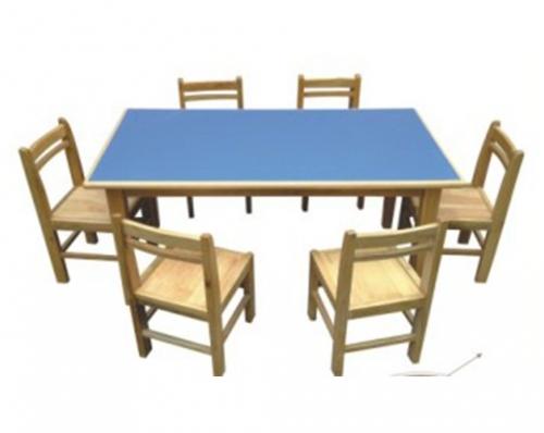 k31-01儿童木质桌椅