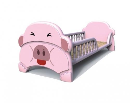 小猪塑料床